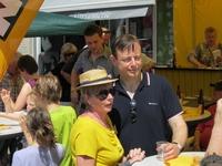 De Wever op bezoek bij N-VA Borsbeek